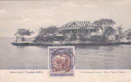 CARTOLINA - POSTCARD - TRINIDAD - ROCK ISTAND - YE ADAMSON PRINTERIE , PORT OF SPAIN - Trinidad