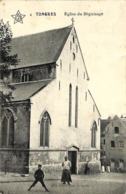 Tongres - Eglise Du Béguinage (animation, Edit. Grand Bazar Tongrois 1912) - Tongeren