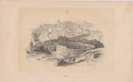 Ségovie, Segovia, Gravure. - Prenten & Gravure