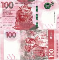 HONG KONG - HSBC   100 Dollars    P-New       1.1.2018       UNC - Hong Kong