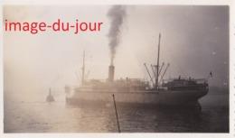 PHOTO ANCIENNE  Paquebot Elisabethville A Anvers Novembre 1933 Boat Bateau - Bateaux