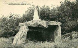 4920 - Dolme De SAUGRE-sur-Dénezé Près Doué-la-Fontaine - France