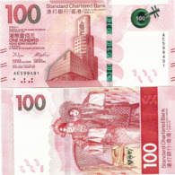 HONG KONG - SCB   100 Dollars    P-New       1.1.2018       UNC - Hong Kong