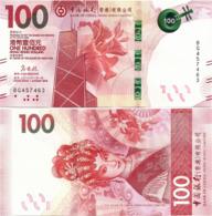 HONG KONG - BoC   100 Dollars    P-New       1.1.2018       UNC - Hong Kong