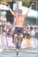 Ciclismo, Cyclisme, Cycling. CP Col. Anna VAN DER BREGGEN - Cyclisme