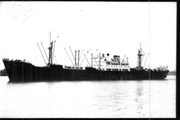 "Photo Récente Bateau "" Aquitaine "" Delmas 1947 Sunderland 1968 ""Cabateal "" - Reproducciones"
