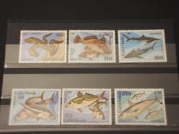 CABO VERDE - 1980 PESCI 6 VALORI - NUOVI(++) - Kap Verde