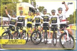 Ciclismo, Cyclisme, Cycling. CP Col. Groupe SKY - Cyclisme