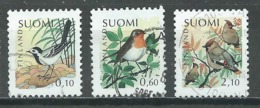 Finlande YT N°1135/1137 Oiseaux Familiers Oblitéré ° - Finlande