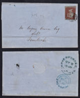 Cd0014 GREAT BRITAIN 1849, QV Cover Haverfordwest To Pembroke - 1840-1901 (Victoria)