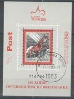 "Österreich 2000:   Block Ersttag ""BASILISK"" Gestempelt - 1945-.... 2. Republik"