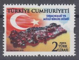 12.- TURKEY 2018 DEMOCRACY AND NATIONAL SOLIDARITY DAY - 1921-... Republic