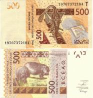 WEST AFRICAN STATES   T: Togo        500 Francs       P-819T[h]       2012 - (20)19        UNC - États D'Afrique De L'Ouest