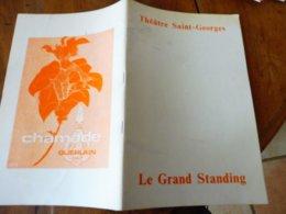 1972 THÉÂTRE SAINT-GEORGES Et Biographies (Neil SIMON,Raymond Castans,Emilio Bruzzo,Pierre Mondy,Micheline Luccioni,etc - Theatre