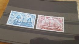 LOT 474572 TIMBRE DE COLONIE TAAF NEUF* N°38/39 VALEUR 21 EUROS - Terre Australi E Antartiche Francesi (TAAF)