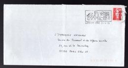 FRANCIA - LONGWY  -  BANDES DESSINES  -  30  O 31  ????????? - Storia Postale