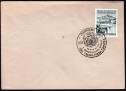 Yugoslavia Pancevo 1953 / 800th Anniversary Of Pancevo / Philatelic Exhibition - Cartas
