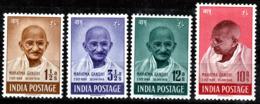 INDIA  1948  1st ANNIV.of INDEPENDENCE   SET  MAHATMA GANDHI MH - Neufs