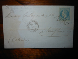 Lettre GC 1877 Joinville Le Pont Seine Avec Correspondance - 1849-1876: Période Classique