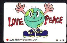 Telecarte PEACE - PEACE On Phonecard (26)  LOVE PEACE - Télécartes