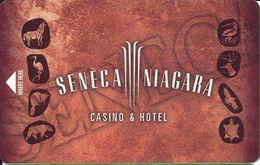 Seneca Niagara Casino - Niagara Falls NY - Hotel Room Key Card - Hotelsleutels (kaarten)