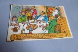 BELLE ILLUSTRATION ...LE PLAISIR DE LA TABLE EST DE TOUS LES AGES...SIGNE CHEN ?? .... - Illustrateurs & Photographes
