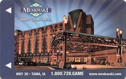 Meskwaki Casino - Tama IA USA - Hotel Room Key - Hotel Keycards