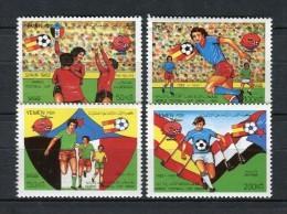 Yemen PDR 1982. Yvert 268-71 ** MNH. - Argentine