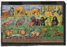 Guinea, República Yvert A 116/A 133 Ss Usada TT: Fauna,Animales,Agua Valor Yvert € 9.50 - Guinée Equatoriale
