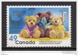 Canada, MNG, Ours, Ourson, Teddy Bear, Hôpital Pour Enfant, Infirmière, Children Hospital, Bear, Nurse, Médecine, - Ours