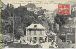 SAINTE CATHERINE Sous BRIANCON Bâtiments De L'usine à Soie -  Sortie Des Ouvriers - Briancon