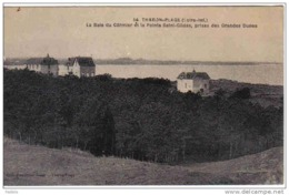 Carte Postale 44. Tharon-plage Les Villas La Baie Du Cormier Et La Pointe St-Gildas Vue Des Grandes Dunes Trés Beau Plan - France