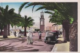 CPSM Casablanca  (Maroc)  Boulevard Du 4 ème Zouaves  Voiture Ancienne Renault ?  éditions La Cigogne N° 160 - Casablanca