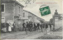 SOMMEVOIRE  Sortie Des Ouvriers De L'Usine - Francia