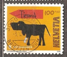 "Switzerland: 1 Used Semi Postal Stamp, ""Pro Juventute"", 2006, Mi#1988 - Switzerland"