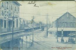 BRITISH GUYANA GEORGETOWN WATER STREET SOUTH CUMINGSBURG - 1900s  (BG4655) - Sonstige
