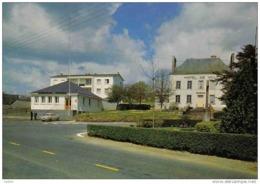 Carte Postale 44. Riaille   La Gendarmerie Et L'hotel De Ville Trés Beau Plan - France