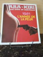 """1981 - AFFICHE HARA KIRI - """"L'année De La Peur"""" - Afiches"""