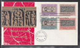 2020 ) Vatikan Vaticano 1962 FDC - Christliche Archäologie / Christian Archaeology - FDC