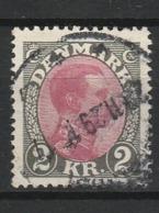 DANEMARK 1921-30 YT N° 148 Obl. - 1913-47 (Christian X)