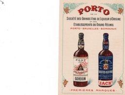 PORTO  De La Société Des Grands Vins De Liqueur D'Origine- Paul MARTIN Fils Concessionnaire Exclusif à BORDEAUX - Publicités