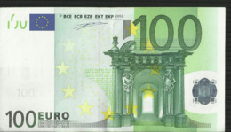 100 EURO GREECE Y G006 CIRCULE/CIRCULATED DUISENBERG - EURO