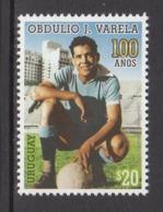 2017 Uruguay Varella Football Complete  Set Of 1 MNH - Uruguay