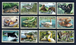 United Nations UN 2000 Endangered Species #8  MAMMALS BIRDS REPTILES   12v MNH**   13,00 € - Birds