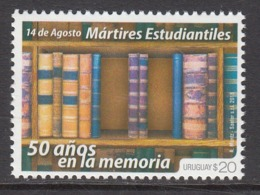 2018 Uruguay Books Literature Complete  Set Of 1 MNH - Uruguay