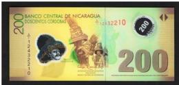 NICARAGUA 200 Cordobas 2007 (2012) Prefix A1 - UNC - FDS - NEUF - Nicaragua