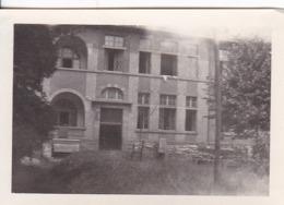 Foto Krankenhaus Colmar Mit Sandsackstellungen -  2. WK - 8,5*5,5cm (44185) - Krieg, Militär