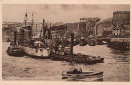 CPA - BREST - Contre Torpilleur Rentrant Au Port De Guerre - Brest