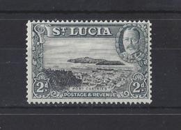 ST. LUCIA...KING GEORGE V.(1910-36)....2d.....SG116......MH...... - St.Lucia (...-1978)