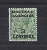 MOROCCO AGENCIES......KING GEORGE V.(1910-36)... SG128.......MH...... - Oficinas En  Marruecos / Tanger : (...-1958